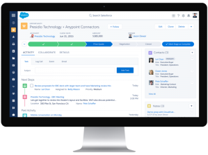 New Salesforce Opportunity Record